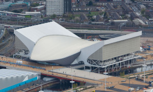 London Aquatic Centre for 2012 Olympics